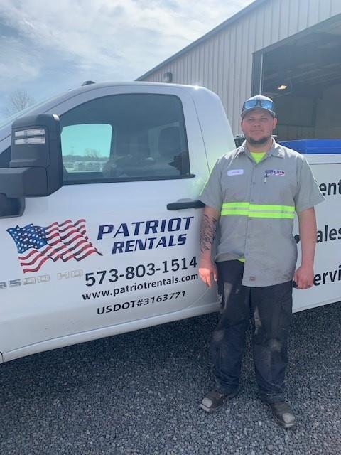 Jacob Russell - Service Technician -Scott City